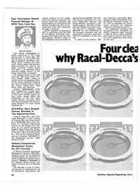Maritime Reporter Magazine, page 18,  Nov 1981 California