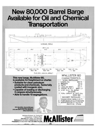 Maritime Reporter Magazine, page 1,  Nov 1981 chemicals