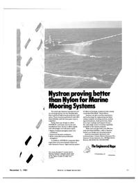 Maritime Reporter Magazine, page 33,  Nov 1981