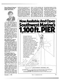 Maritime Reporter Magazine, page 37,  Nov 1981 California
