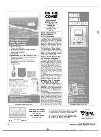 Maritime Reporter Magazine, page 2,  Nov 1981 New York
