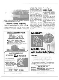 Maritime Reporter Magazine, page 40,  Nov 1981 John Logan