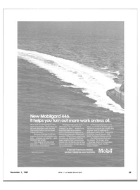 Maritime Reporter Magazine, page 41,  Nov 1981 less oil make-up