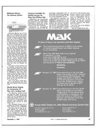 Maritime Reporter Magazine, page 47,  Nov 1981 Florida