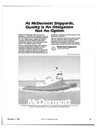 Maritime Reporter Magazine, page 49,  Nov 1981 Louisiana