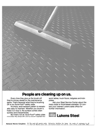 Maritime Reporter Magazine, page 52,  Nov 1981 Lukens Steel