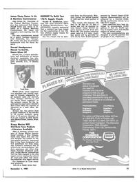 Maritime Reporter Magazine, page 55,  Nov 1981
