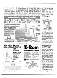 Maritime Reporter Magazine, page 56,  Nov 1981