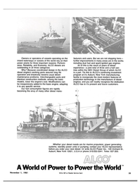 Maritime Reporter Magazine, page 59,  Nov 1981 production technology