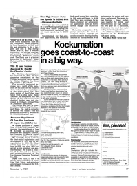Maritime Reporter Magazine, page 61,  Nov 1981