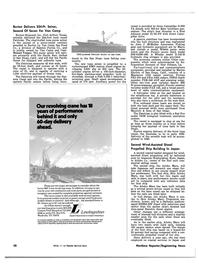Maritime Reporter Magazine, page 64,  Nov 1981