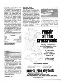 Maritime Reporter Magazine, page 65,  Nov 1981 car decks