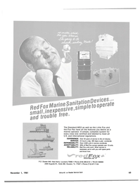 Maritime Reporter Magazine, page 69,  Nov 1981 United States