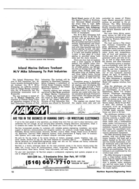 Maritime Reporter Magazine, page 8,  Nov 15, 1981 Indiana
