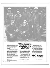 Maritime Reporter Magazine, page 11,  Nov 15, 1981