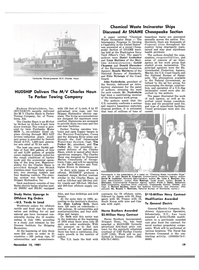Maritime Reporter Magazine, page 15,  Nov 15, 1981 New York