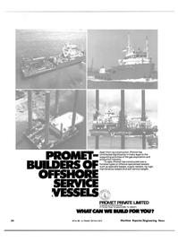 Maritime Reporter Magazine, page 20,  Nov 15, 1981 Promet Berhad