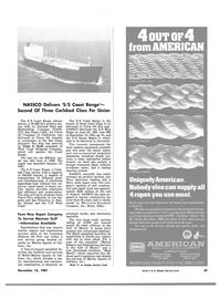 Maritime Reporter Magazine, page 23,  Nov 15, 1981 Hawaii