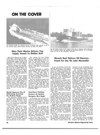 Maritime Reporter Magazine, page 24,  Nov 15, 1981