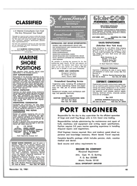Maritime Reporter Magazine, page 41,  Nov 15, 1981 Larry Victor