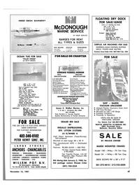 Maritime Reporter Magazine, page 43,  Nov 15, 1981