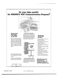 Maritime Reporter Magazine, page 3,  Nov 15, 1981 New York