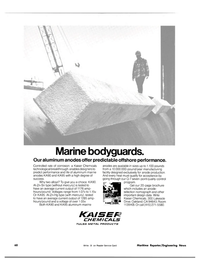 Maritime Reporter Magazine, page 52,  Nov 15, 1981