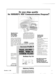 Maritime Reporter Magazine, page 11,  Dec 1981 New York