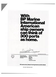 Maritime Reporter Magazine, page 2nd Cover,  Dec 1981 BP North America Trading Inc.