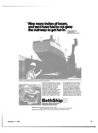 Maritime Reporter Magazine, page 21,  Dec 1981