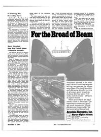 Maritime Reporter Magazine, page 39,  Dec 1981