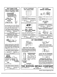 Maritime Reporter Magazine, page 58,  Dec 1981 VOLT DC INPUT THE BOSTON METALS COMPANY Marine Warehouse
