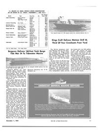 Maritime Reporter Magazine, page 63,  Dec 1981