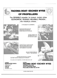 Maritime Reporter Magazine, page 3rd Cover,  Dec 1981