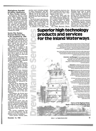Maritime Reporter Magazine, page 21,  Dec 15, 1981 Pennsylvania