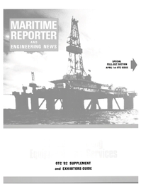 Maritime Reporter Magazine, page 25,  Apr 1982