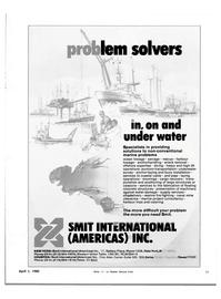 Maritime Reporter Magazine, page 43,  Apr 1982