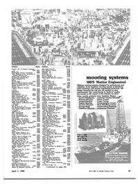 Maritime Reporter Magazine, page 59,  Apr 1982