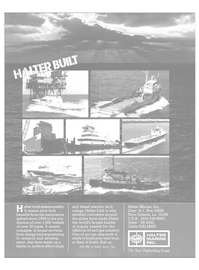 Maritime Reporter Magazine, page 4th Cover,  Apr 1982