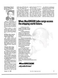 Maritime Reporter Magazine, page 9,  Jan 15, 1983 Ohio