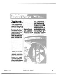 Maritime Reporter Magazine, page 11,  Jan 15, 1983 cpen propeller systems