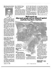 Maritime Reporter Magazine, page 33,  Jan 15, 1983 Missouri