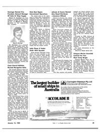 Maritime Reporter Magazine, page 35,  Jan 15, 1983 Florida