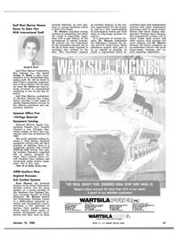 Maritime Reporter Magazine, page 37,  Jan 15, 1983 Washington