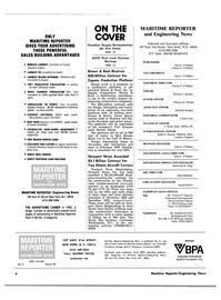 Maritime Reporter Magazine, page 2,  Jan 15, 1983 Connecticut