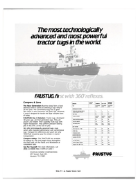 Maritime Reporter Magazine, page 3rd Cover,  Jan 15, 1983 Texas