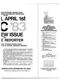 Maritime Reporter Magazine, page 9,  Feb 15, 1983