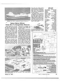 Maritime Reporter Magazine, page 21,  Feb 15, 1983