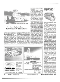 Maritime Reporter Magazine, page 22,  Mar 1983
