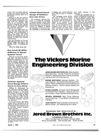 Maritime Reporter Magazine, page 23,  Mar 1983 Maryland
